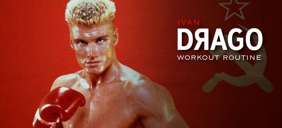 Ivan Drago Dolph Lundgreen workout routine
